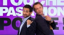 Cyril Hanouna et Jean Michel Maire de l'émission touche pas à mon poste