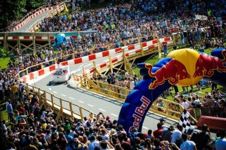 Course Caisses à Savon, Red Bull