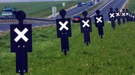 Sécurité routière: plus d'accidents mortels sur les routes en 2014