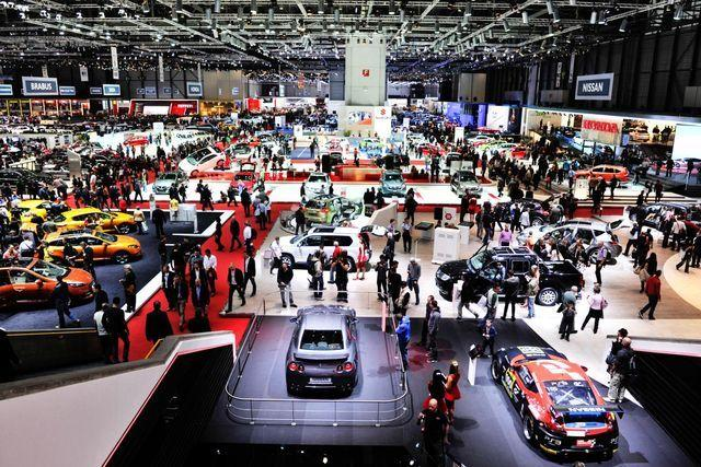 salon de l'automobile genève voitures du futur voiture autonome concept car