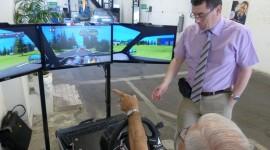 Simulateur de conduite le 12 juin 2014