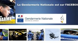 La gendarmerie nationale sur Facebook