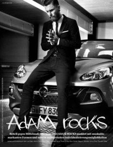 Hipster et Opel Adam Rocks