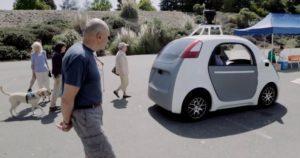 La Google Car, voiture autonome de Google