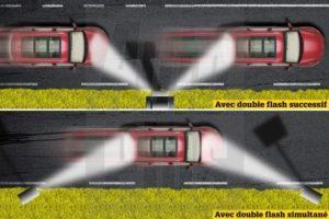 deux modèles de radar double face