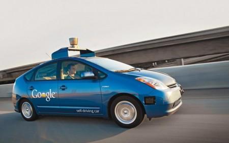 google car voiture sans chauffeur