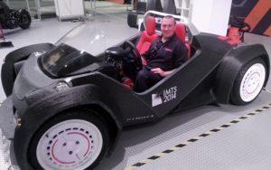 La strati, première voiture imprimée en 3D