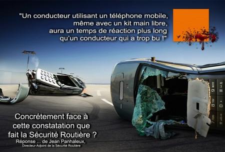 Nouvelles mesures de la sécurité routière interdiction du kit mains libres