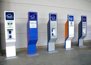 bornes de recharges électriques