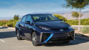 la Mirai de Toyota