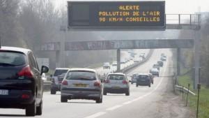 interdiction de circulation des véhicules polluants et diesel sur Paris