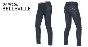 nouvelle gamme de jeans moto pour femmes Dainese le Belleville Lady
