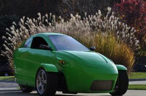 Elio, la voiture biplace