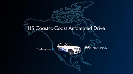 Traversée des Etats Unis en voiture autonome