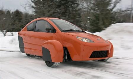 Elio, voiture originale à trois roues