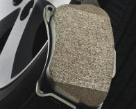 plaquette de frein en ciment