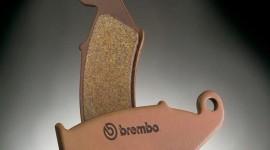 plaquettes de freins à base de ciment de la marque Brembo