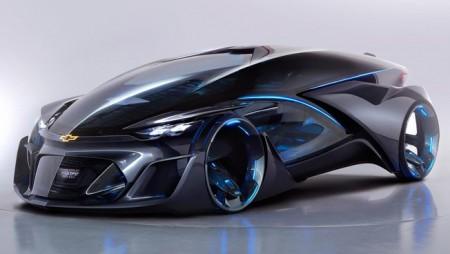 Chevrolet FNR Voiture sans pilote voiture intelligente voiture connecté
