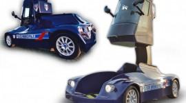 Viséo la nouvelle voiture de police équipée d'une cabine télescopique