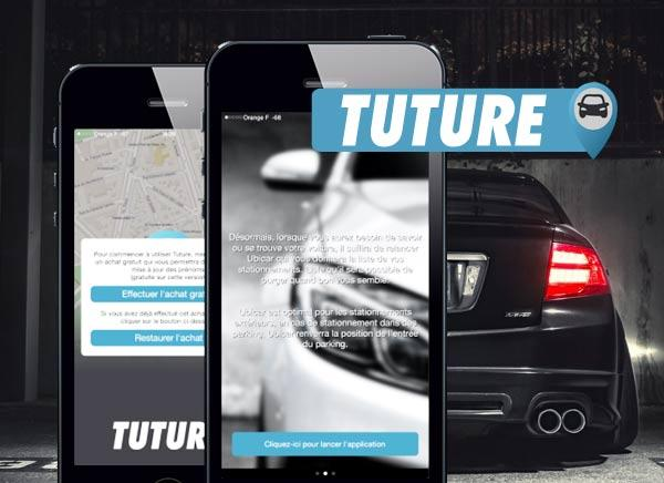 application pour smartphone tuture