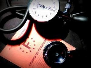 Visite médicale et test psychotechnique pour la récupération du permis de conduire