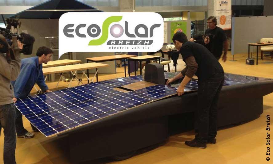 Heol voiture solaire cellules photovoltaïques eco solar breizh