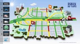 INRIX BMW technologie embarquée voiture connectée application On-Street Parking trouver une place de parking se garer en ville système de navigation