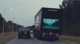 nouvelles technologies automobiles camion samsung sécurité routière