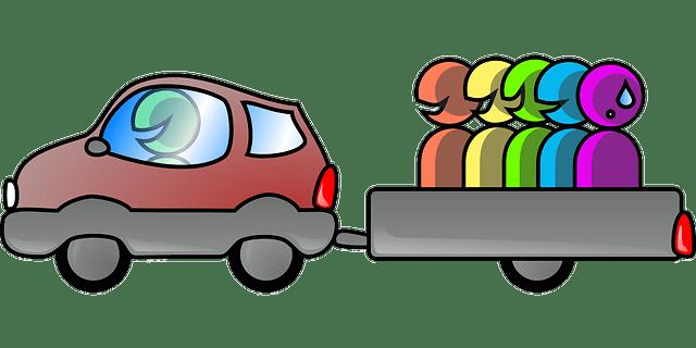 Autopartage covoiturage salariés ubeeqo crédit mobilité