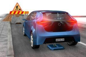 Le frein ventouse Torricelli de la société autoliv, une aide au freinage d'urgence