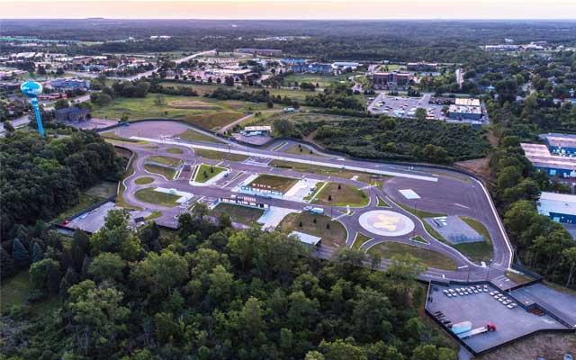 MCity fausse ville voiture autonome sans chauffeur test université michigan tgechnologie automobile