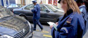 Mise en place des amendes sur les voitures mal garées
