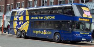 Megabus bus Low cost