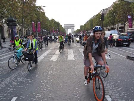 Journée sans voitures Paris