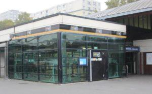 Abri à vélo sécurisé Véligo de la station Saint-Denis Université