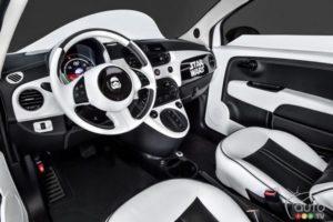 Habitacle de la Fiat 500e Stormtrooper (Copier)