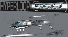 Hyperloop train supersonique Elon Musk projet open source transport du futur capsule
