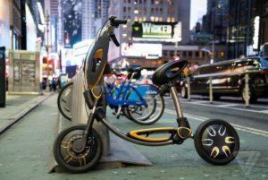 INU, le scooter électrique pliable et connecté de Green Ride