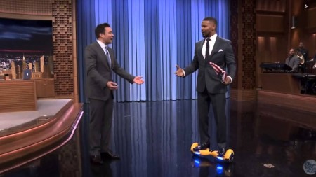 IO hawk Curtis Hedge self balancing scooter Jimmy Fallon Jamie Foxx
