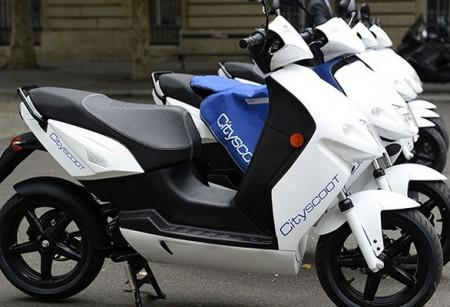 Cityscoot scooters électriques en libre-service