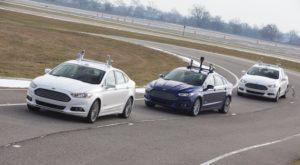 Essai sur circuit de voitures autonomes