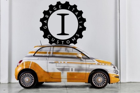 Fiat 500 BB-8 Garage Italia Customs