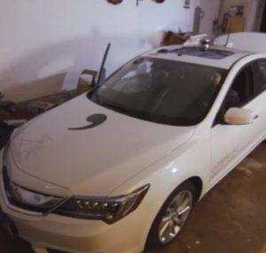Geohot acura voiture autonome