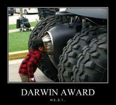 Darwin awards, des accidents insolites