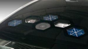 antenne satellite plate Kymeta Toyota Mirai technologie m'Tenna