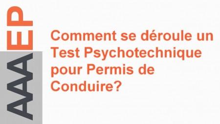 AAAEP examen psychotechnique test psychotechnique centre de test agréé récupération de permis retrait de permis