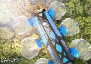 Canopi, le véhicule qui roule sur la cime des arbres