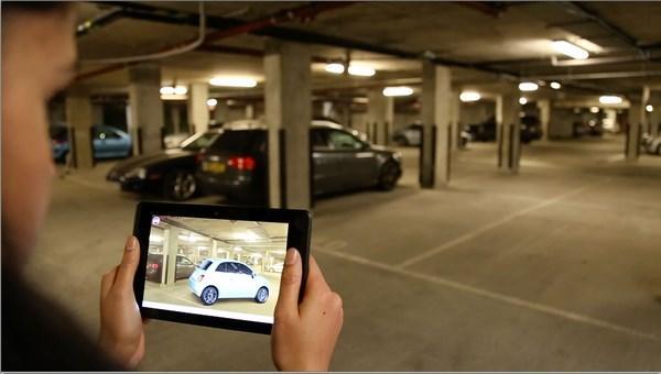 Fiat Chrysler Automobiles réalité augmentée pour la vente des voitures projet tango