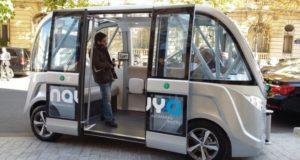 Navya, minibus autonome et électrique e circulation sur Paris d'ici 2020