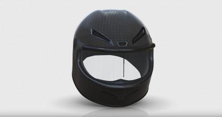 Rainpal, essuie-glace amovible pour casque moto